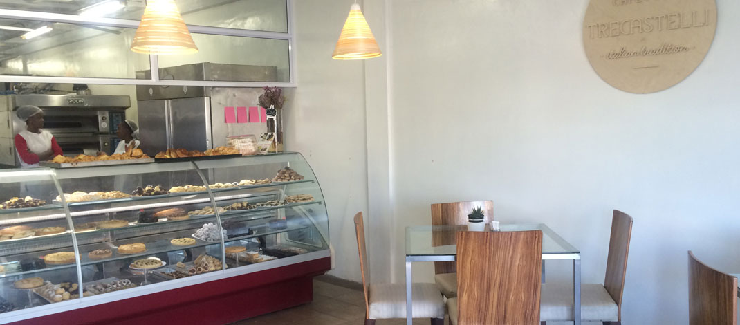 Have you been to trecastelli bakery table view info for Beauty spa tableview