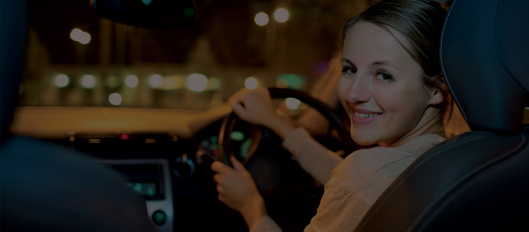 Safety tips for women driving alone table view info for Beauty spa tableview