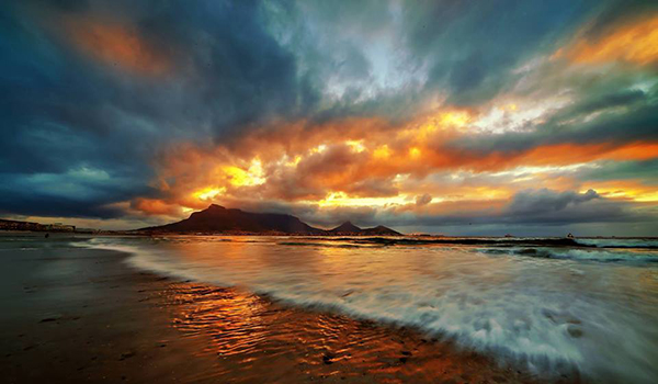 Table Mountain Dolphin Beach