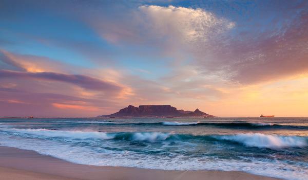 Table Mountain Table View Beach