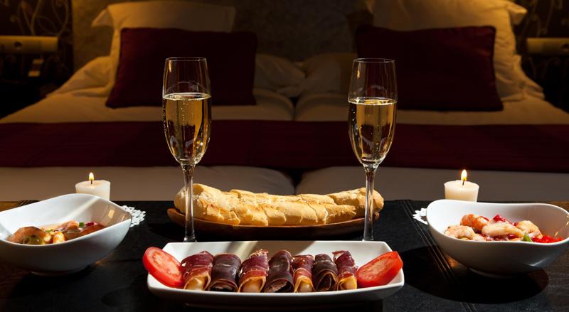 Romantic Dinner Valentines