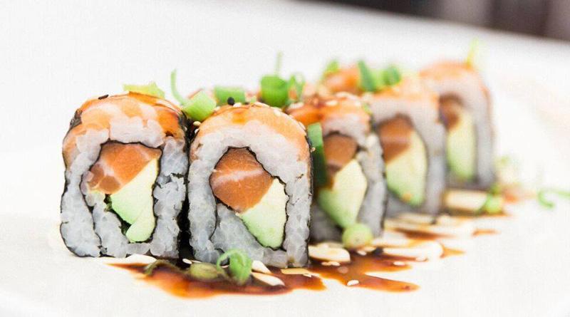 Sushi at The Blowfish