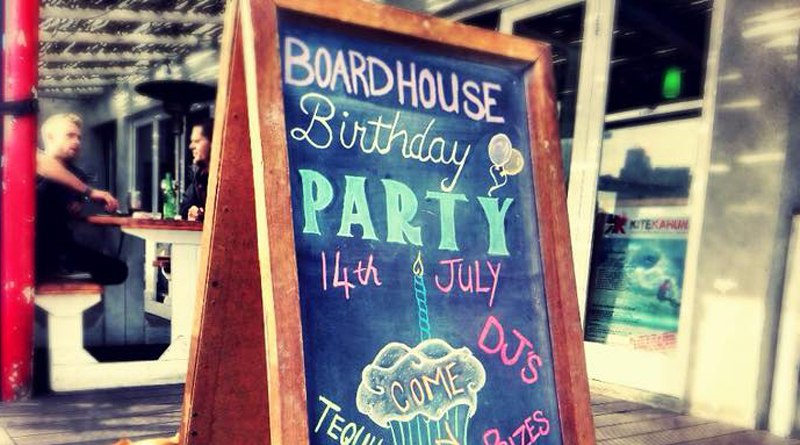 Boardhouse party