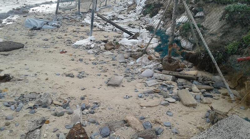 milnerton beach damage