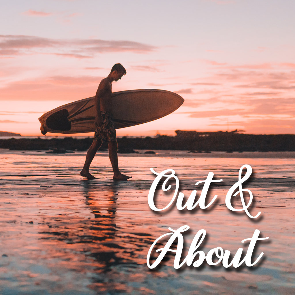 Out and about surfing table view