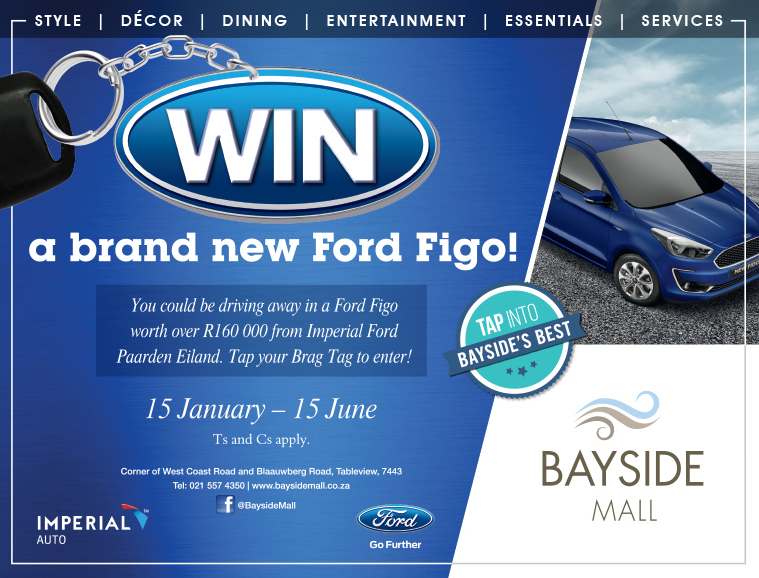 Bayside Mall - Ford Figo competition