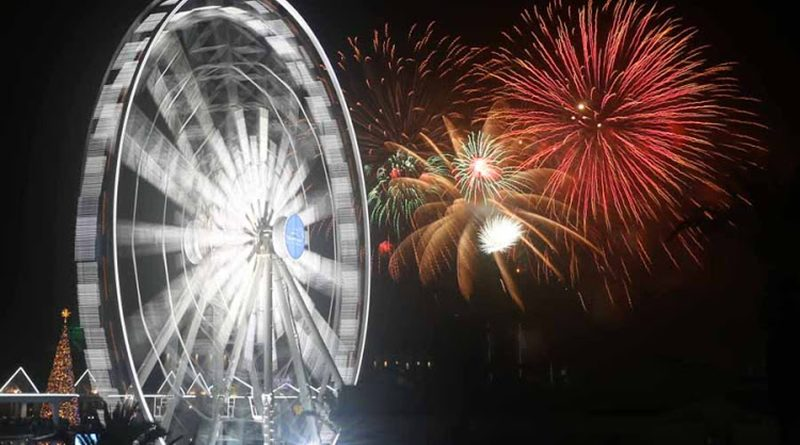 2017 New Year's Eve celebrations at the Cape Town V&A Waterfront Image: Esa Alexander